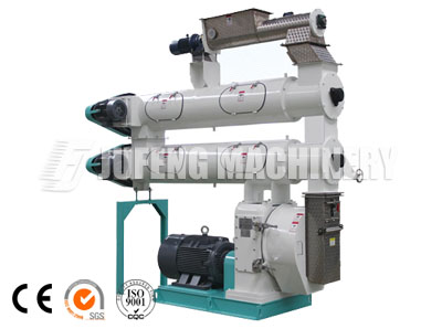 Double conditioner pellet mill